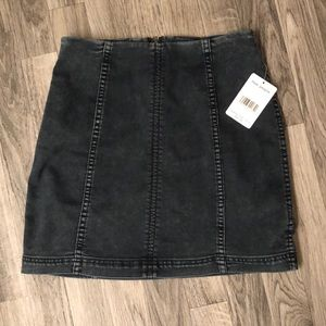 Free People NWT Jean Skirt Size 6